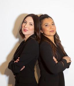 Greta Bellorini e Romina Ferrante titolari del centro Marco Post Varese